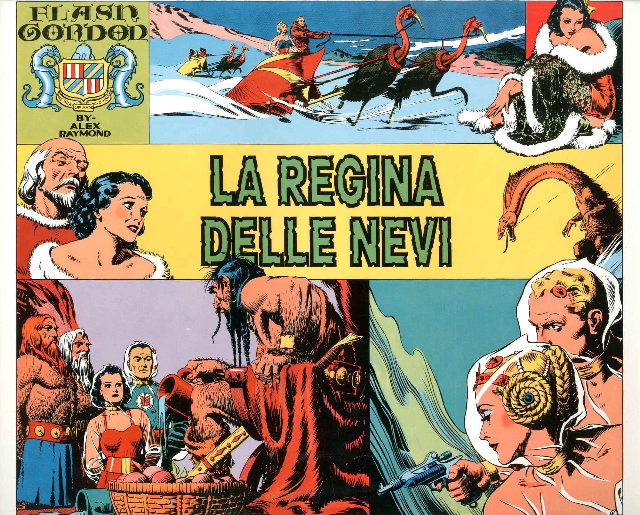 Disegni Armadio Di Chloe Da Stampare : Comic art flash gordon di alex raymond special mongo